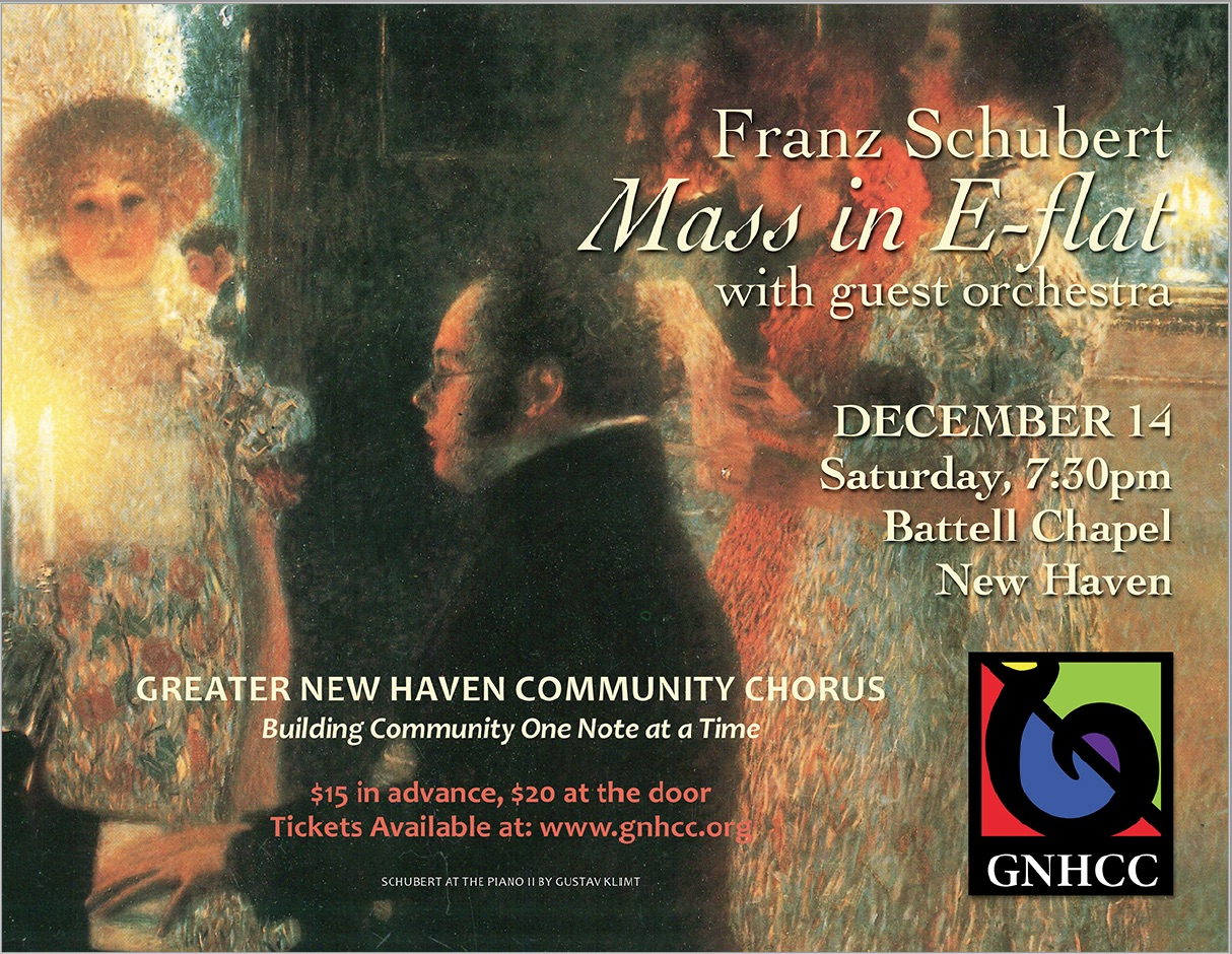 Greater New Haven Community Chorus Fall Concert 2019, December 14th 2019